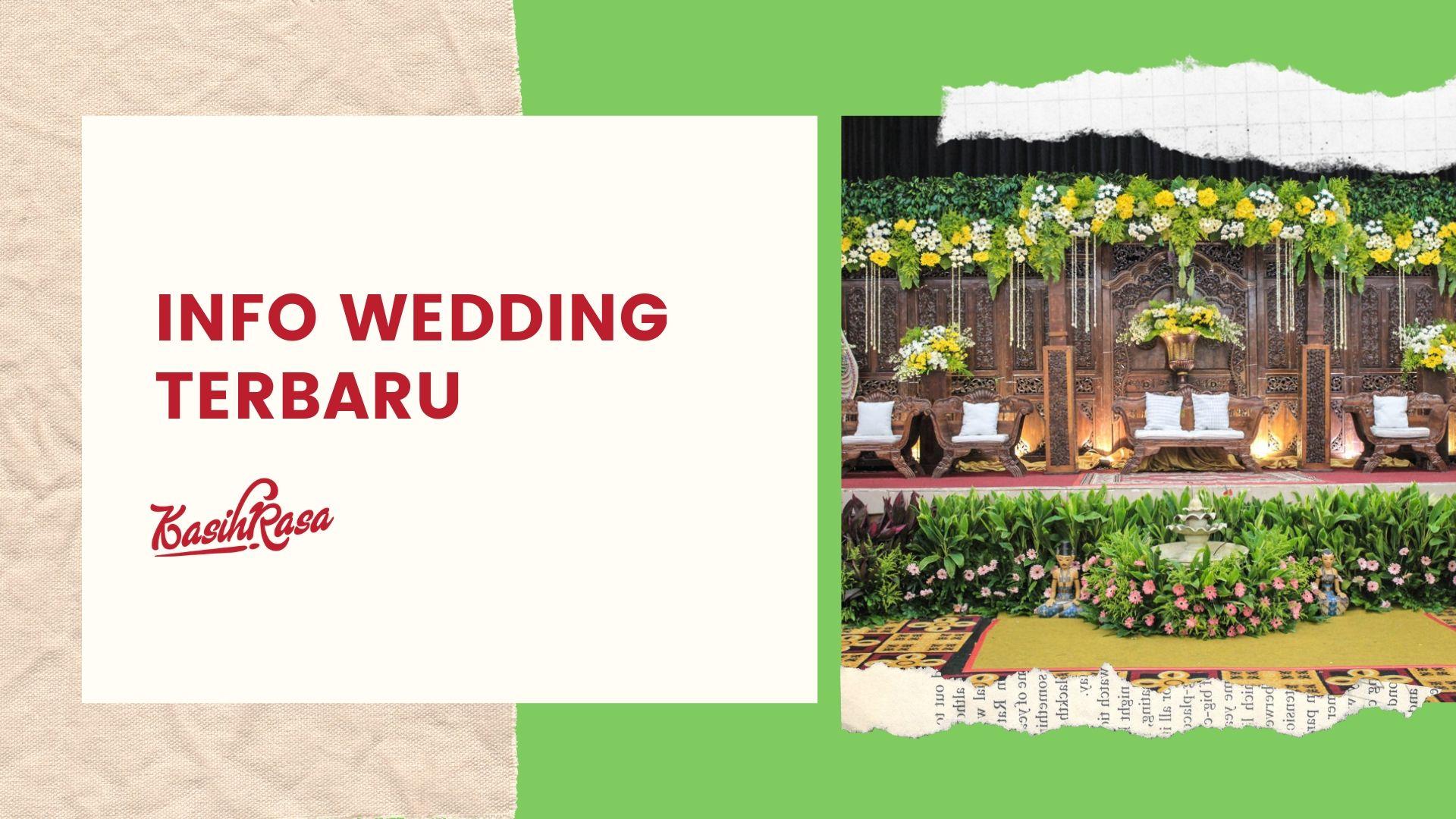 Rekomendasi Wedding Organizer Terpercaya di Jakarta 2019 adalah yang menyiapkan paket pernikahan di jakarta kelengkapan yang di perlukan oleh kedua pengantin